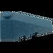 LEGO Dark Blue Wedge 2 x 4 Triple Right (43711)