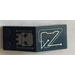 LEGO Dark Blue Windscreen 5 x 2 x 1 & 2/3 with Sticker from Set 7703