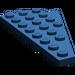 LEGO Dark Blue Wing 4 x 8 Left with Underside Stud Notch (3933)