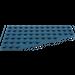 LEGO Dark Blue Wing 6 x 12 Right (30356)