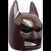 LEGO Dark Brown Batman Mask with Angular Ears