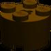 LEGO Dark Brown Brick 2 x 2 Round (6143)