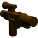 LEGO Dark Brown Minifig Gun Short Blaster