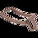 LEGO Dark Brown Minifigure Sword Holder Single (95348)