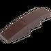 LEGO Dark Brown Slope Curved 4 x 1 (11153 / 61678)