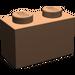 LEGO Dunkles Fleisch Backstein 1 x 2 (3004)