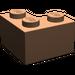 LEGO Dark Flesh Brick 2 x 2 Corner (2357)