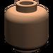 LEGO Dark Flesh Plain Head (Safety Stud) (3626)