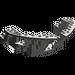 LEGO Dark Gray Boat Bow 16 x 12 x 5 1/3 Hull Inside (2557)