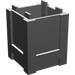 LEGO Dark Gray Container 2 x 2 x 2 Crate