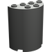 LEGO Dark Gray Cylinder 2 x 4 x 4 (6218)