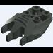 LEGO Dark Gray Dino.Foot 2 x 4 x 2/3 (40393)