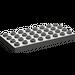 LEGO Dark Gray Duplo Plate 4 x 8 (4672)
