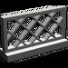LEGO Dark Gray Fence Lattice 1 x 4 x 2 (3185)