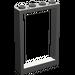 LEGO Dunkelgrau Frame 1 x 4 x 5 mit hohlen Bolzen (2493)