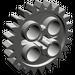 LEGO Dark Gray Gear with 24 Teeth (3648)