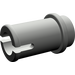 LEGO Dark Gray Half Pin with Stud