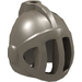 LEGO Dark Gray Minifig Helmet Castle with Fixed Face Grille (4503)