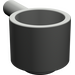 LEGO Dark Gray Minifig Saucepan (4529)