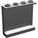 LEGO Dark Gray Panel 1 x 4 x 3 with Side Supports, Hollow Studs