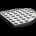 LEGO Gris foncé assiette 6 x 6 Rond Coin (6003)