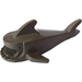 LEGO Dark Gray Shark Body without Gills (2547)