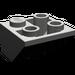 LEGO Dark Gray Slope 45° 2 x 2 Inverted (3676)