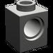 LEGO Dark Gray Technic Brick 1 x 1 with Hole (6541)