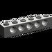 LEGO Dark Gray Technic Brick 1 x 6 with Holes (3894)