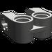 LEGO Dark Gray Technic Cross Block 2 x 2 Split (Axle/Twin Pin) (41678)