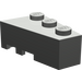 LEGO Dark Gray Wedge 3 x 2 Right (6564)