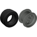 LEGO Dark Gray Wheel 49.6 x 28 VR Assembly
