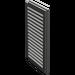 LEGO Dark Gray Window 1 x 2 x 3 Shutter (3856)