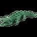 LEGO Dark Green Animal Crocodile (Complete)