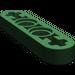 LEGO Dark Green Beam 4 x 0.5 with Axle Hole each end (32449)