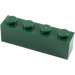 LEGO Dark Green Brick 1 x 4 (3010)