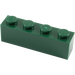 LEGO Dark Green Brick 1 x 4 (3010)