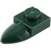 LEGO Dark Green Plate 1 x 1 with Tooth (49668)
