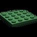 LEGO Dark Green Plate 4 x 4 (3031)