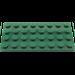LEGO Dark Green Plate 4 x 8 (3035)