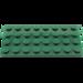 LEGO Vert foncé assiette 4 x 8 (3035)