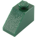 LEGO Dark Green Slope 1 x 2 (45°) (3040)