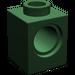 LEGO Dark Green Technic Brick 1 x 1 with Hole (6541)