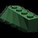 LEGO Dark Green Wedge 2 x 4 Sloped Right (43720)