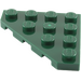 LEGO Dark Green Wedge Plate 4 x 4 (45°) (30503)