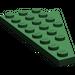 LEGO Dark Green Wing 4 x 8 Left with Underside Stud Notch