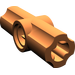LEGO Dark Orange Angle Connector #2 (180º)