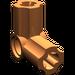 LEGO Dark Orange Angle Connector #6 (90º)