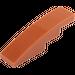 LEGO Dark Orange Slope Curved 4 x 1 (11153 / 61678)