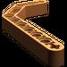 LEGO Dark Orange Technic Beam 3 x 3.8 x 7 Beam Bent 45 Double